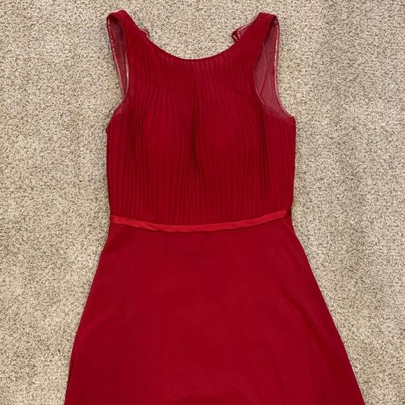 Azazie Dresses & Skirts - Burgundy Azazie Dress